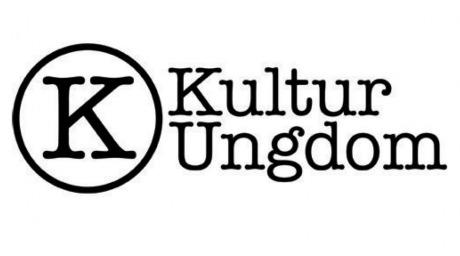 """KulturUngdoms logga, """"KulturUngdom"""" står med svart text mot vit bakgrund. Ett inringat K är bredvid texten."""