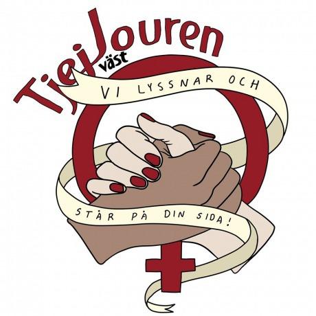 Foto: Tjejjouren västs logga