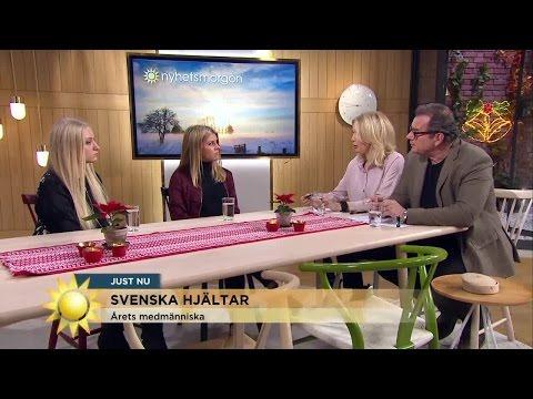 Blev våldtagna - nu hjälper de andra - Nyhetsmorgon (TV4)