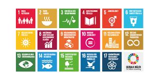 Bild på de 17 globala målen