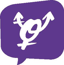 transsymbol lila